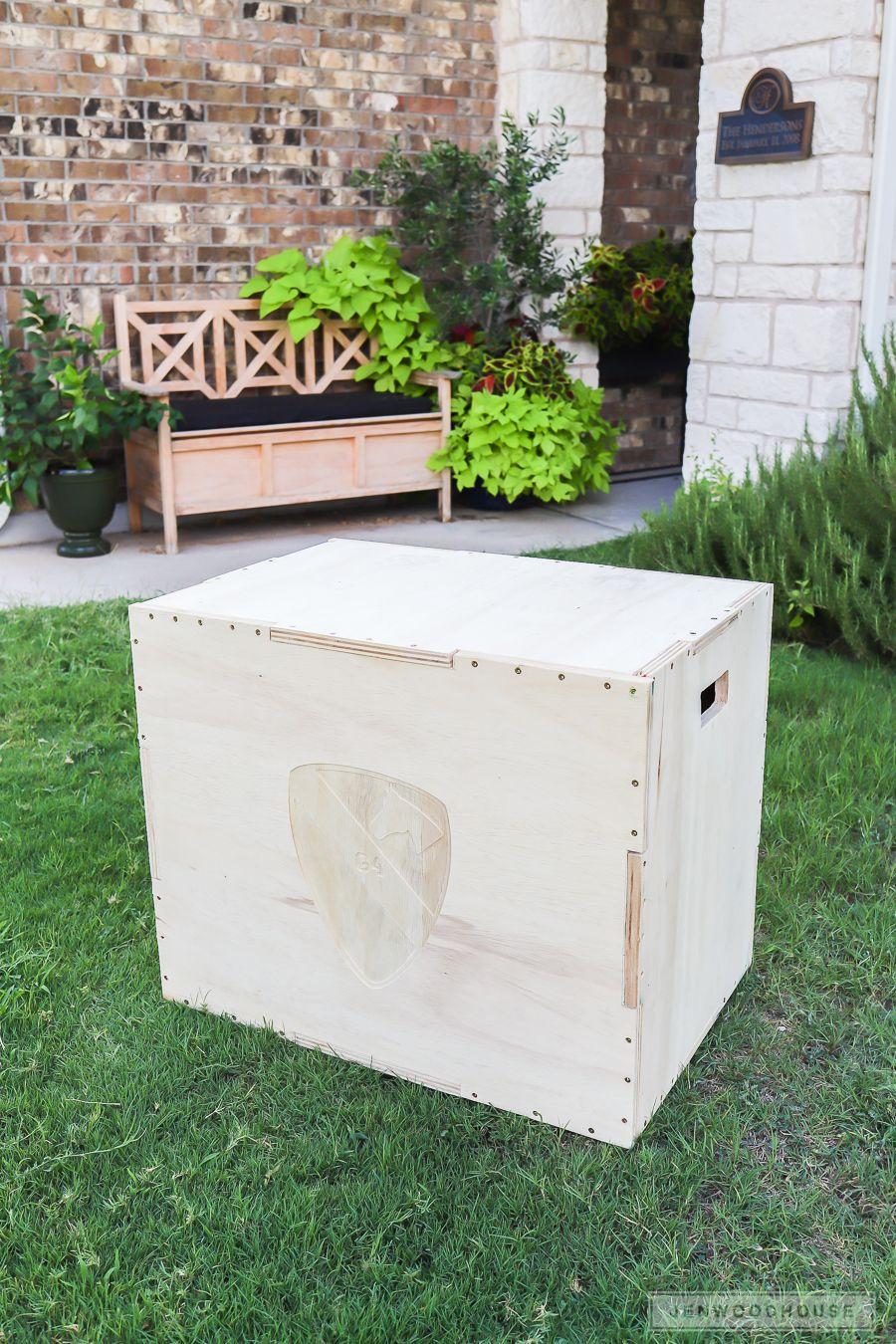 Build A Diy 3 In 1 Plyometric Box For Box Jump Exercises Kim