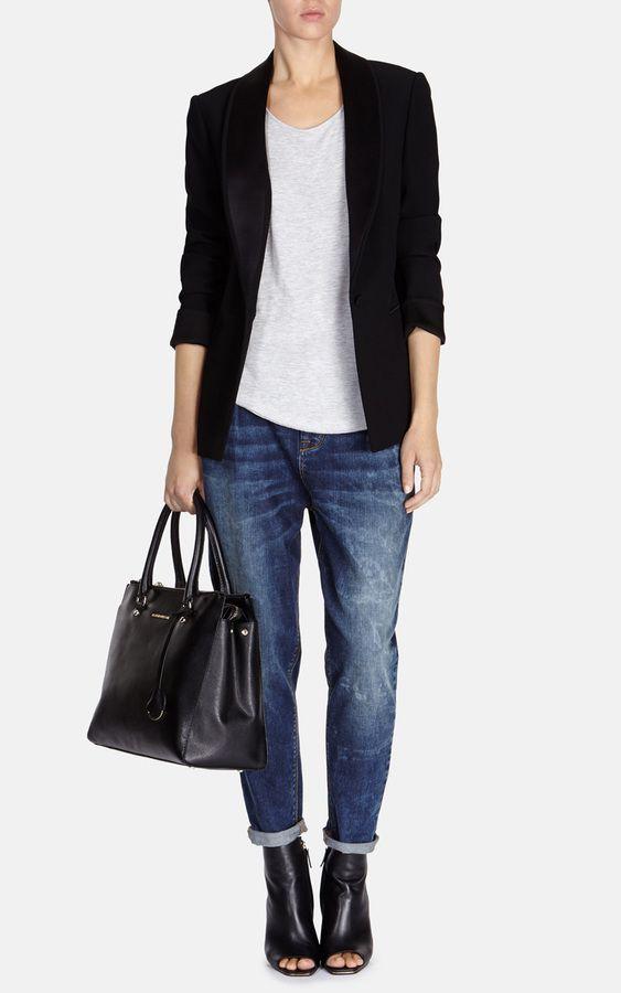 1df6f14142f Karen Millen Modern Tuxedo Jacket on shopstyle.co.uk | Stuff to Buy ...