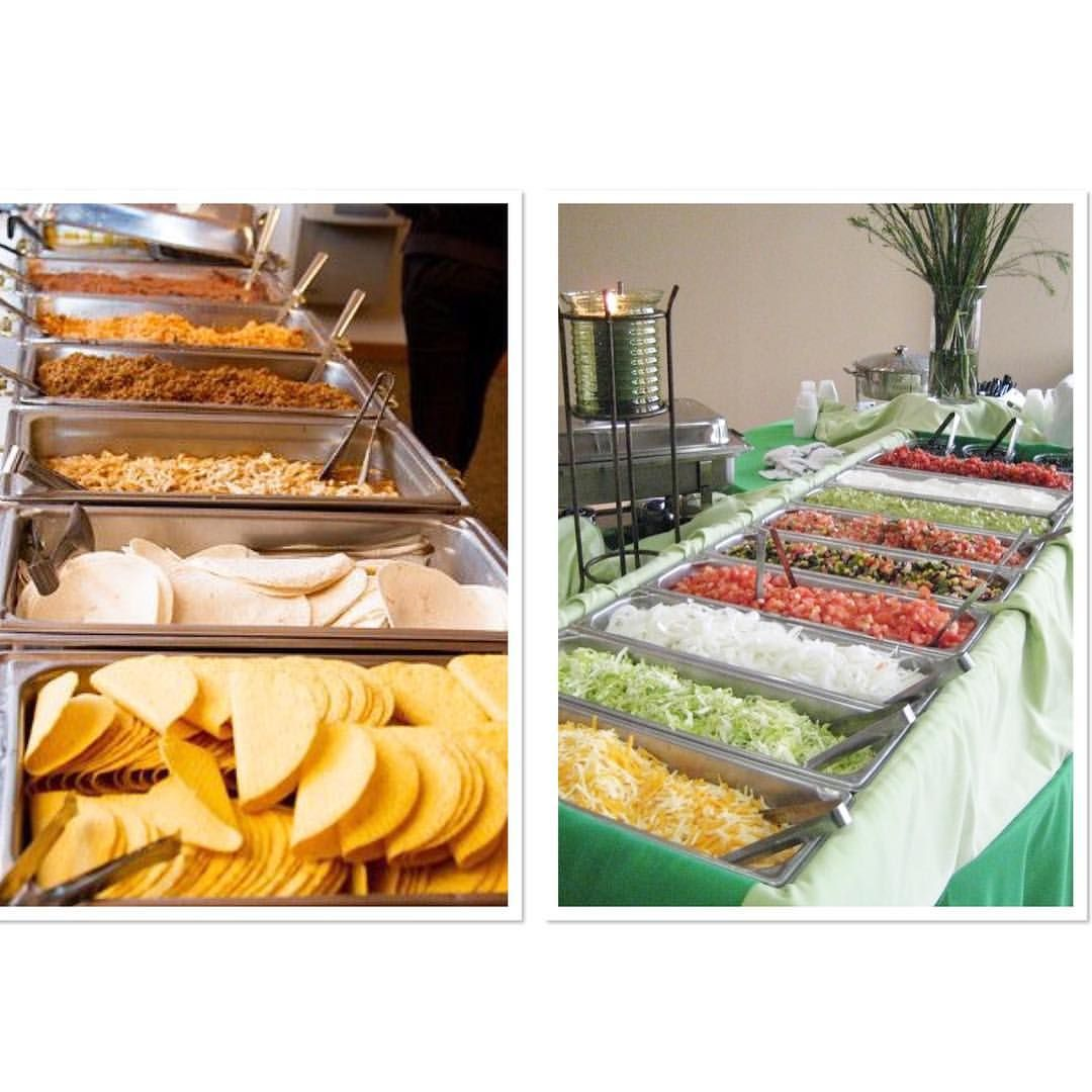Taco Bar At Your Wedding 🌮🌮🌮🌮 Www.jocelynbrookweddings