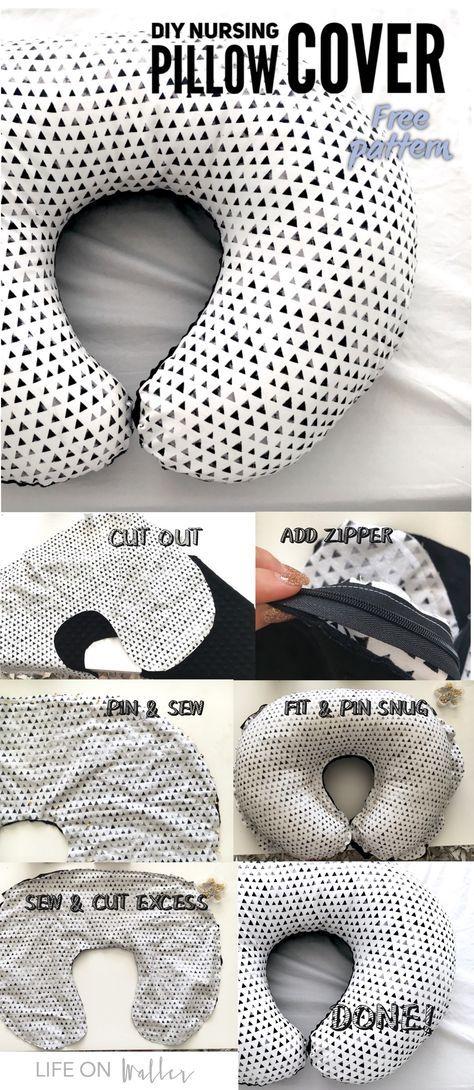Nursing pillow cover | Etsy