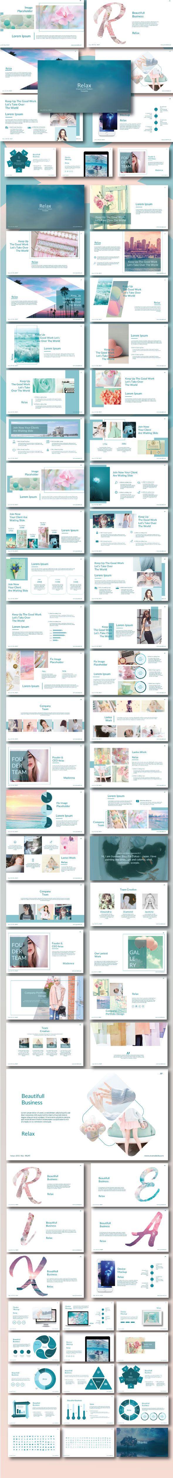 Relax - Creative Modern Template | Portafolio, Revistas y Ilustraciones