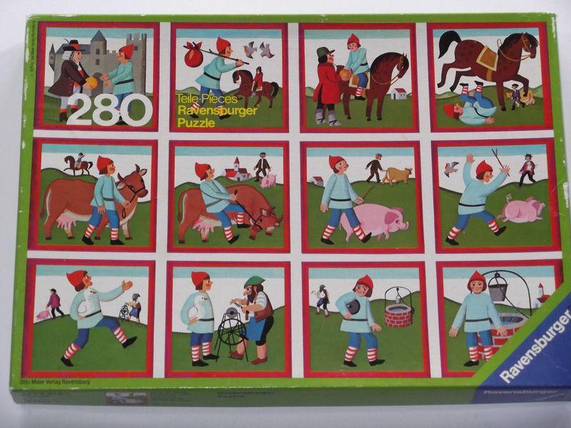 Ravensburger Puzzle 70er