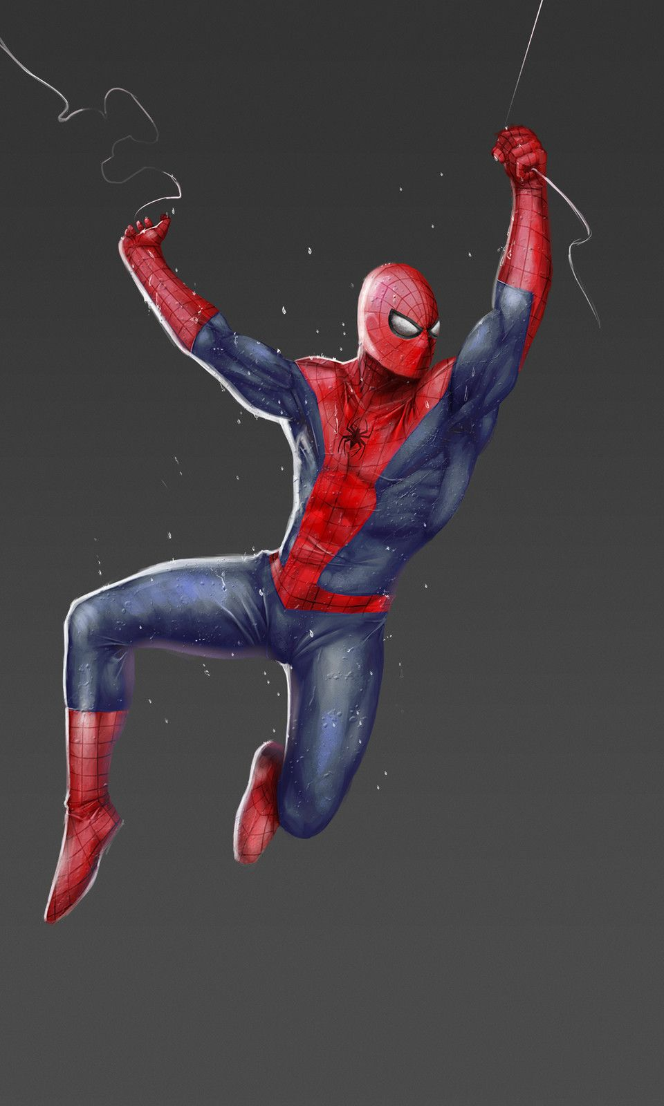 #Spiderman #Fan #Art. (Spider-Man) By: Egor Samsonov. (THE * 5 * STÅR * ÅWARD * OF: * AW YEAH, IT'S MAJOR ÅWESOMENESS!!!™)[THANK Ü 4 PINNING!!!<·><]<©>ÅÅÅ+(OB4E)