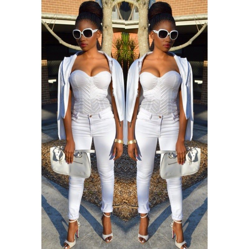 All White Party Outfits
