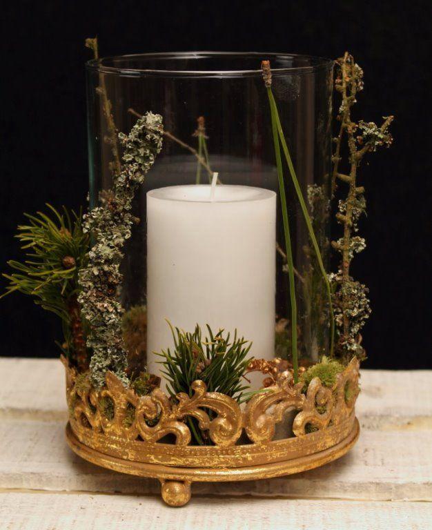 Advent Kerze Im Schonen Glas Advent Kerzen Adventskerzen Kerzen