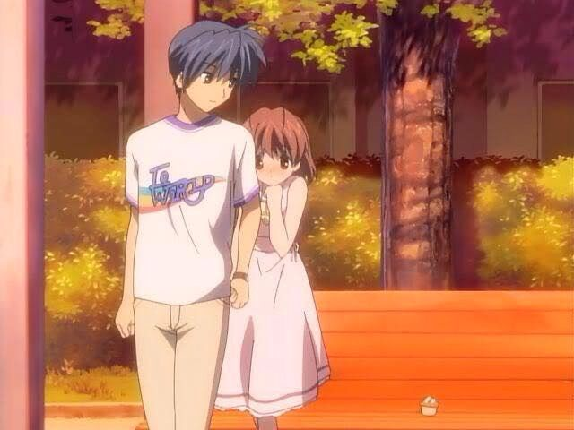 Tomoya And Nagisa Clannad Anime Clannad Clannad After Story