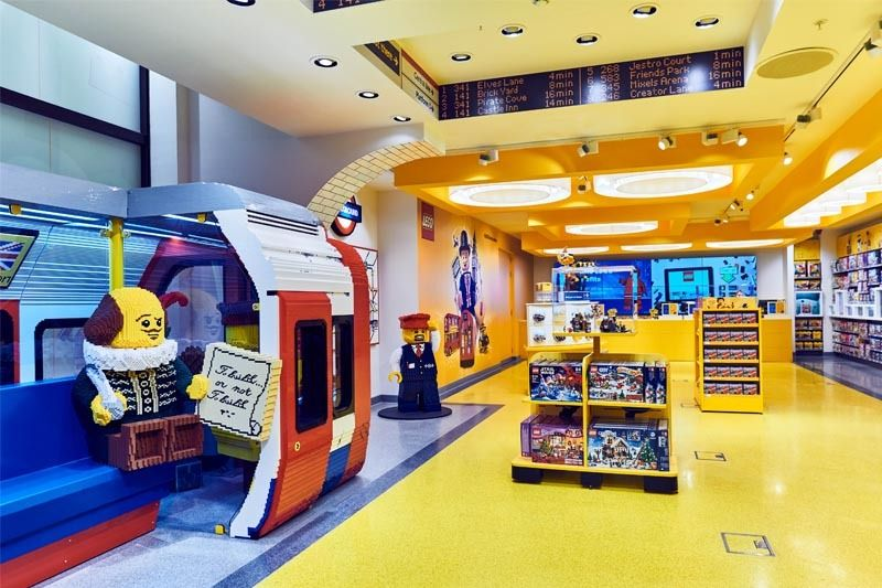 Primera Tienda Oficial De Lego En Espana Madrid La Vaguada