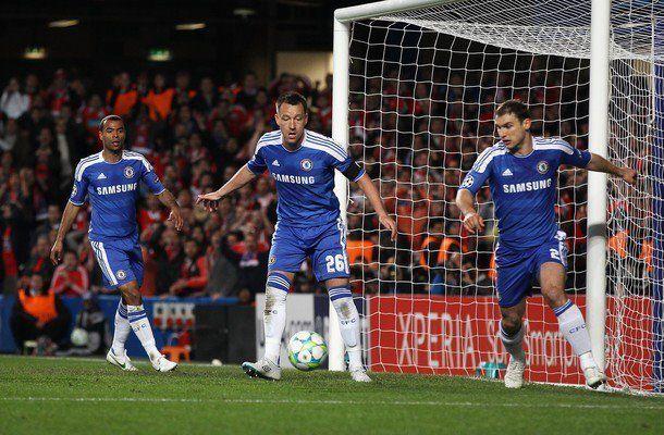 La defensa del Chelsea