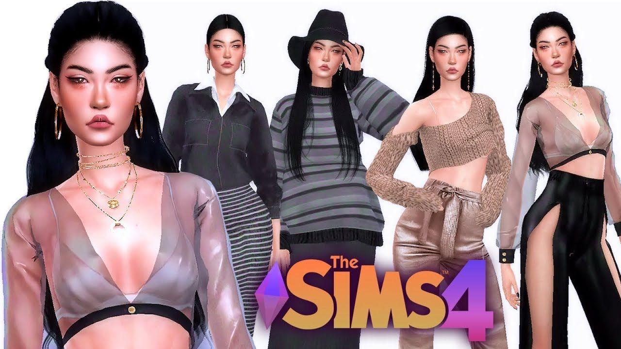 The Sims 4 Create A Sim Mine Asian Mixed Full Cc List Sims 4 Sims Sims 4 Cc