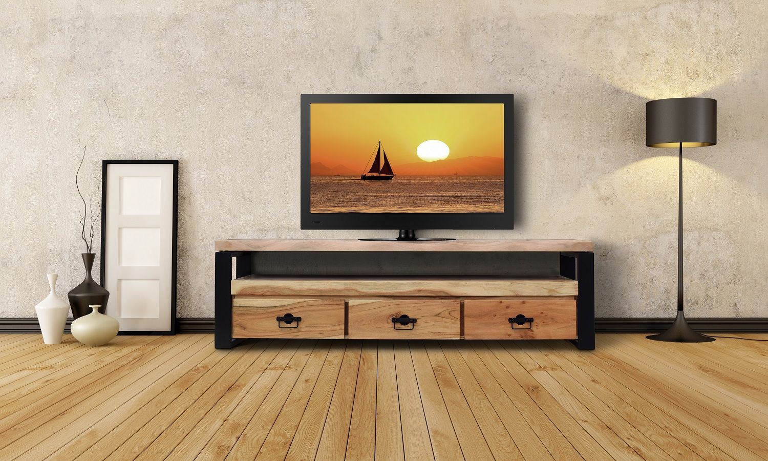 Planke Tv Bord - http://indieliving.dk/shop/zaydi-tv-bord-534p.html ...