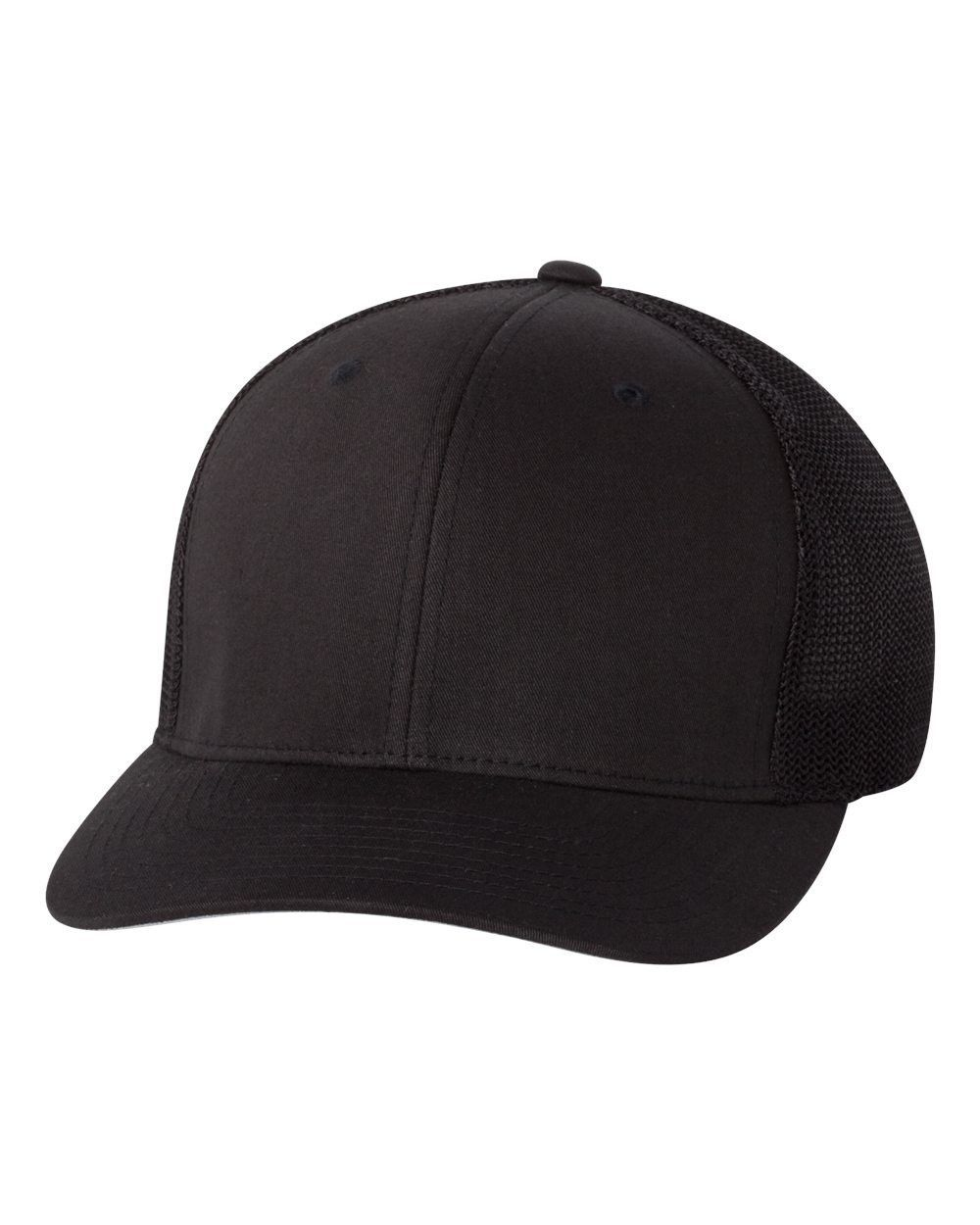 Flexfit - Trucker Cap - 6511 Black  0f8b29565402