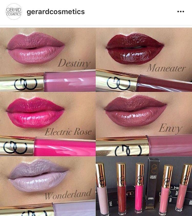 Gerard Cosmetics Red Lipsticks in 2020 | Lipstick, Red