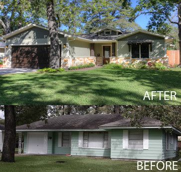 Before And After Exterior Exterior House Renovation