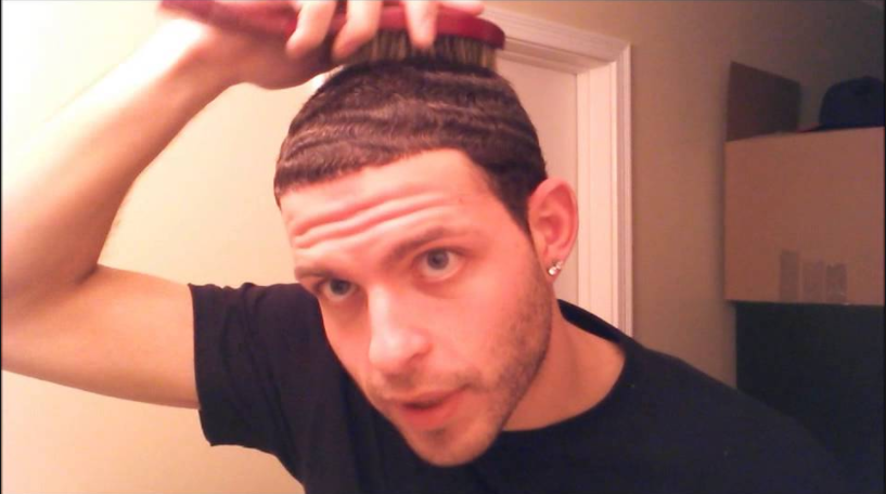 This Dude Is White Boy Waves Boy Hairstyles Kanye West