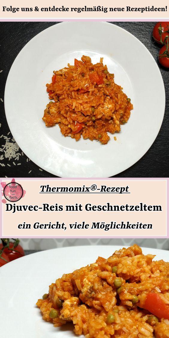 Djuvec-Reis mit Geschnetzeltem | Thermomix®-Rezept