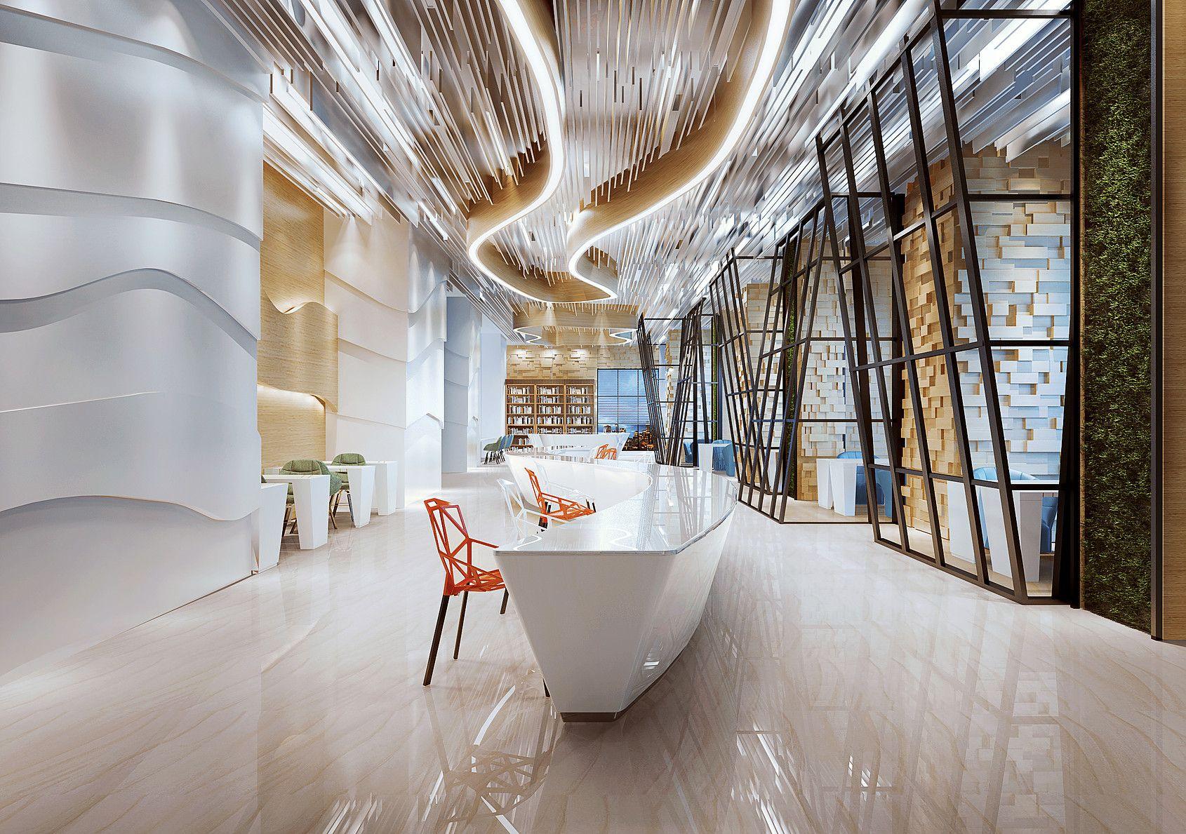 videavision Interiors Corporate interiors, Interior