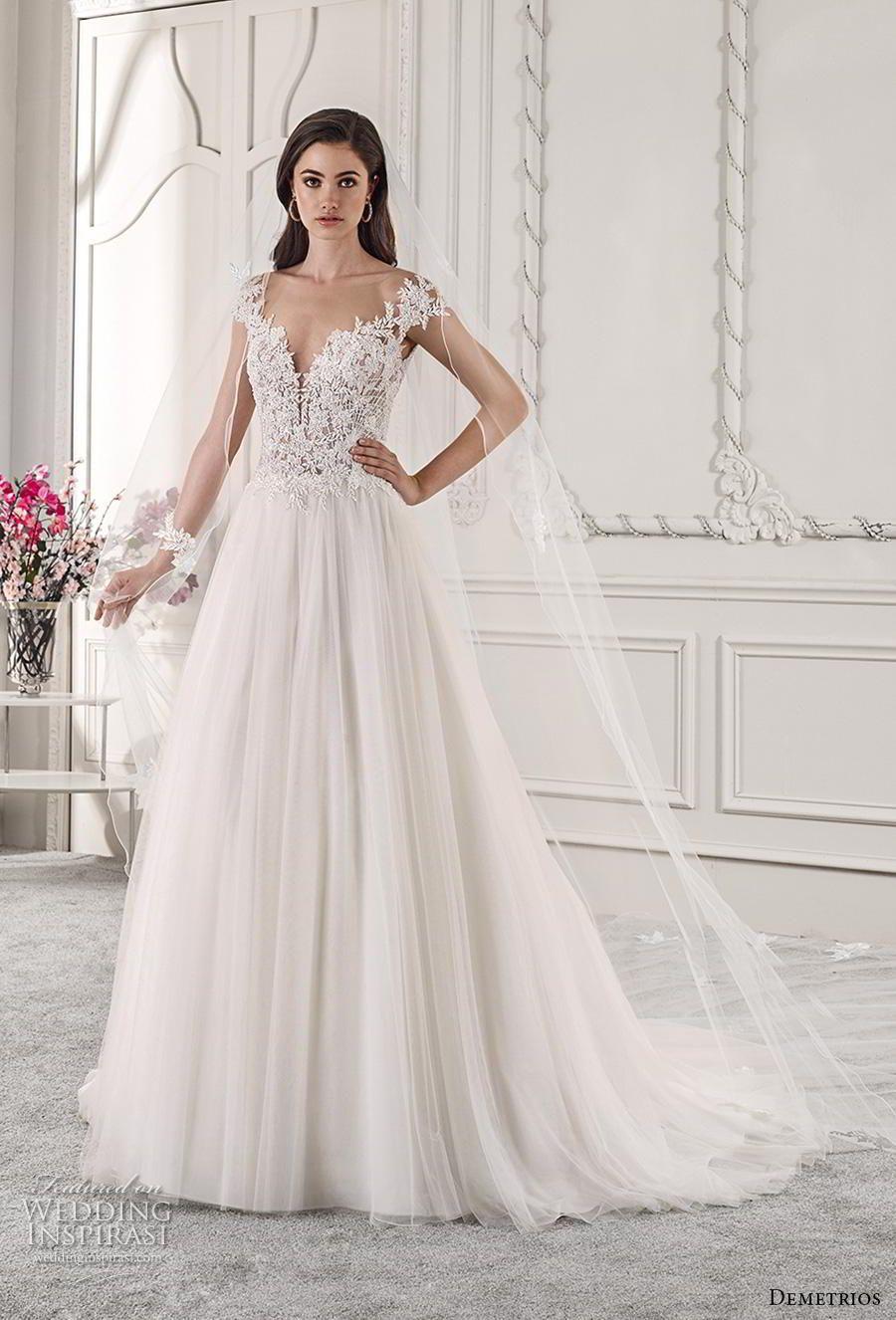 Lace dress zalora may 2019 Demetrios  Wedding Dresses u ucStarlightud Bridal Collection in
