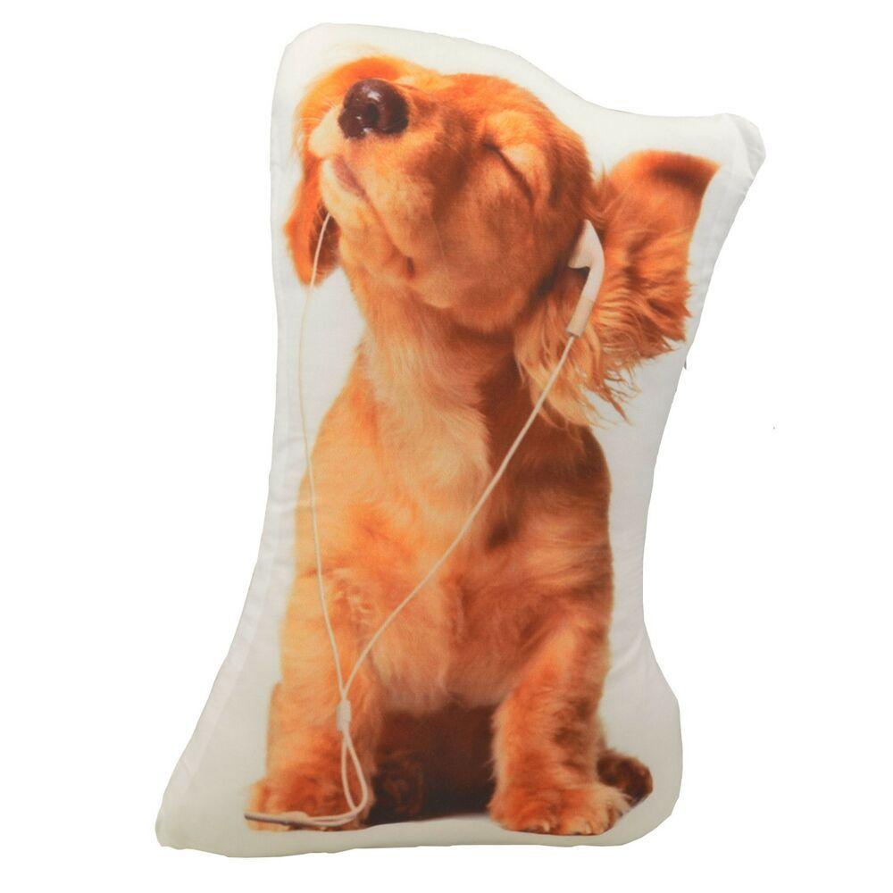 Cocker Spaniel Dog Shaped Photo Decorative Accent Throw Pillow