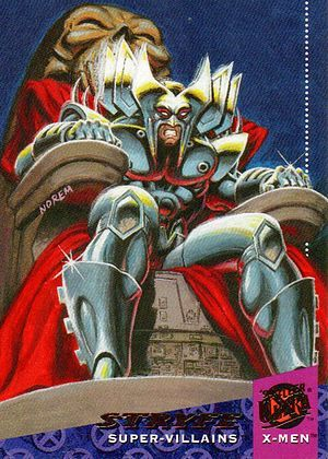 Stryfe 94 Fleer Ultra X Men Card Marvel Cards X Men Marvel Comic Character