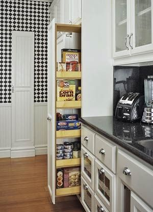 pull-out pantry -I want one of these!!