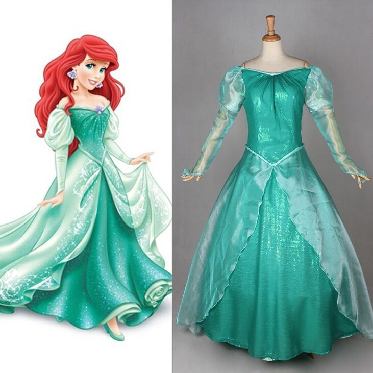 898908c4cee09 Popular Ariel Mermaid Dress-Buy Cheap Ariel Mermaid Dress lots ...