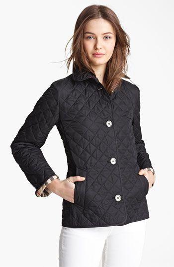 Burberry Brit Copford Quilted Jacket Nordstrom Womens Quilted Jacket Quilted Jacket Burberry Quilted Jacket