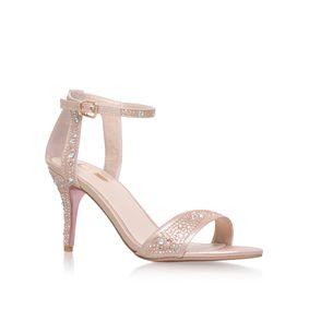 6a23a14ed69e Kollude Pink Mid Heel Sandals from Carvela Kurt Geiger