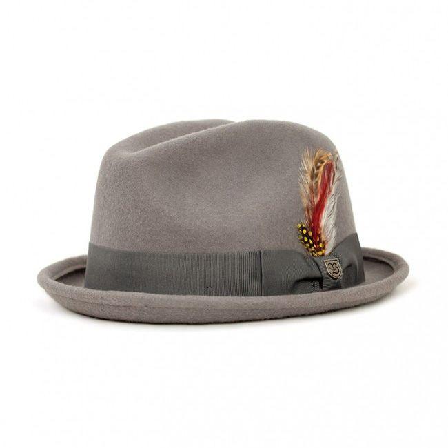 2fdfa0e3d Gain Hat by Brixton- Light Grey   Brixton Hats & Clothing   Dress ...