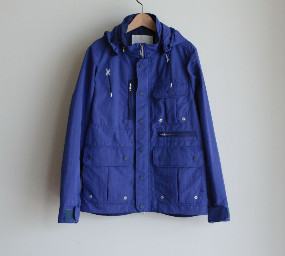 6dfdd8be8344 f-clothing  White Mountaineering   MILITARY JACKET color   blue ...