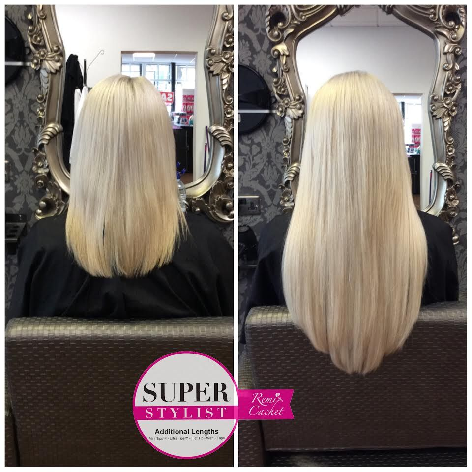 Remi Cachet Mongolian Weft Fitted In Hollywood Weave Method 20