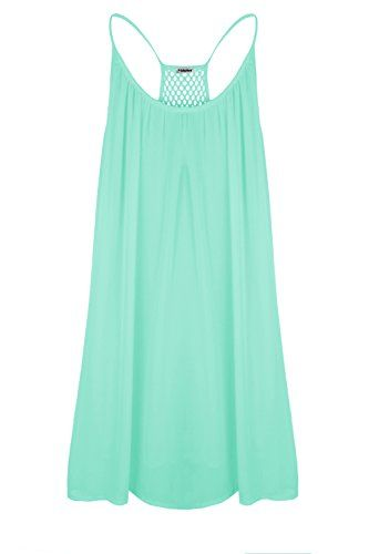 296e05c4c71e Yidarton Womens Summer Casual Sleeveless Evening Party Beach Dress ...