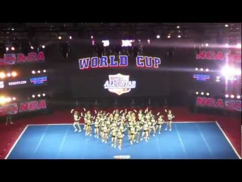 World Cup Shooting Stars NCA 2012 - favorite routine ever. the fact that i was there at that exact moment and time to watch it completed my life <3