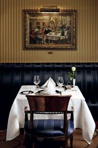 A Table For Two At The Exquisite Gundel Restaurant Budapest - Table for two restaurant