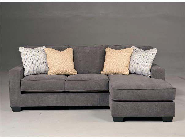 Sectional Sofa Grey Small