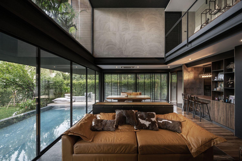 Gallery Of K Krit Residence Octane Architect Design 21 In 2020 Architect Architect Design Facade House