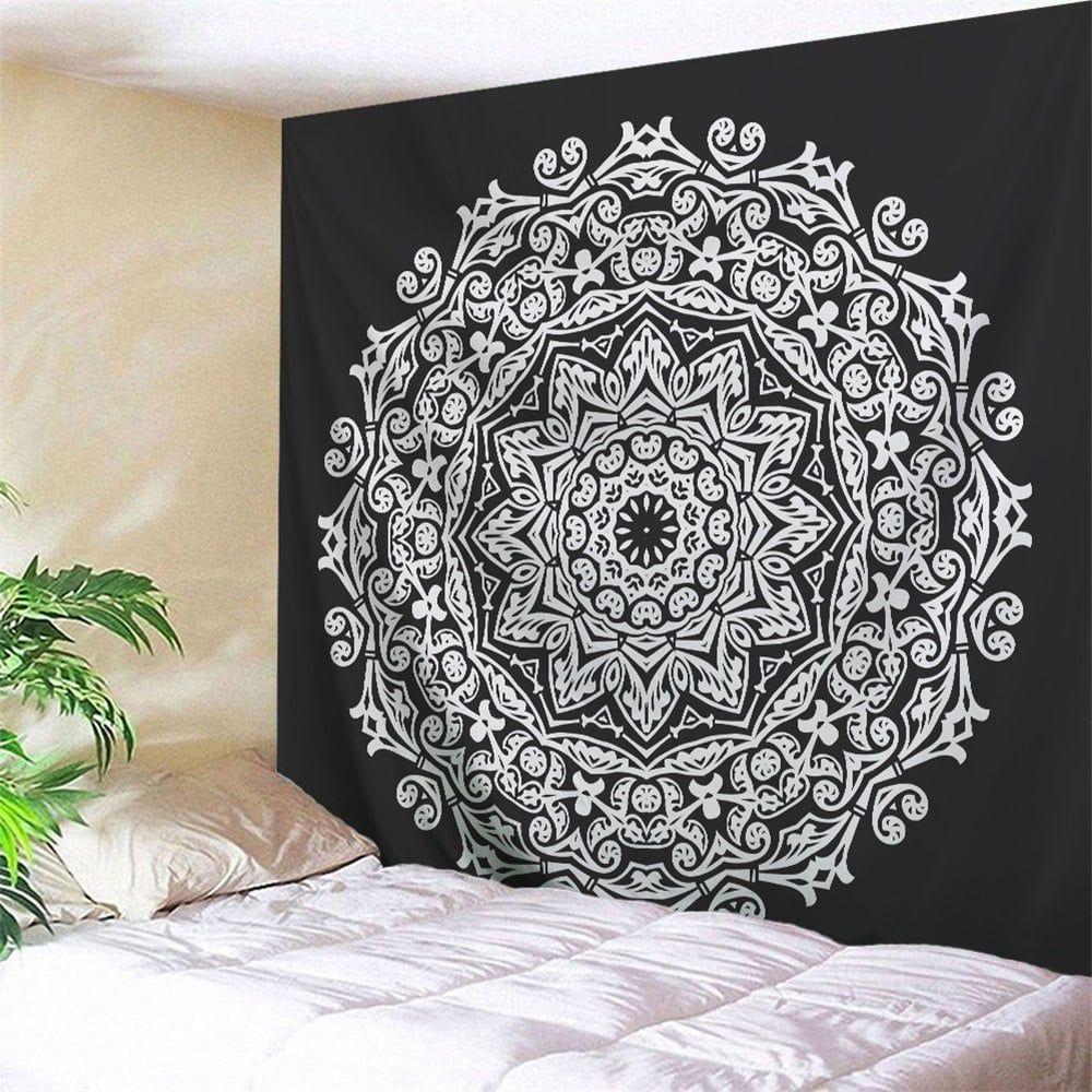 Wall art bedroom dorm decor mandala tapestry wall art bedroom
