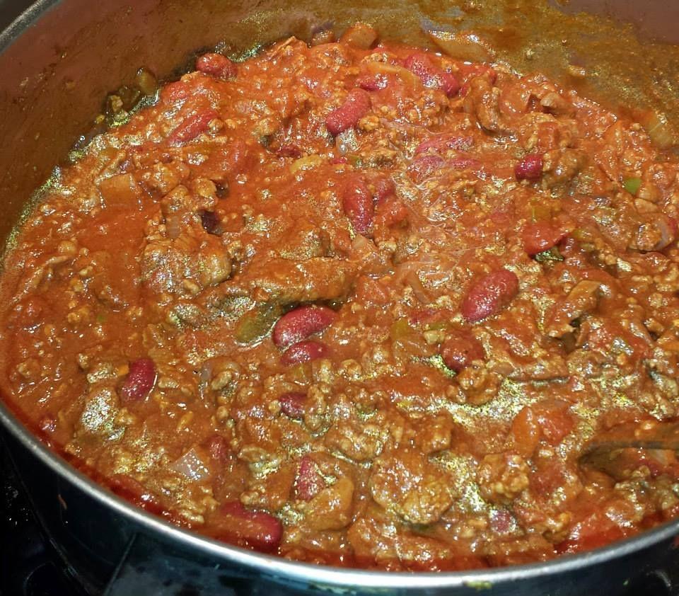 My famous chili