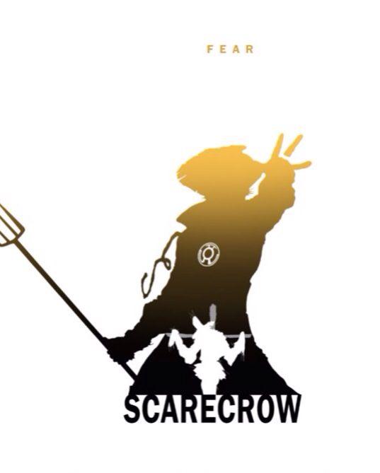 Scarecrow Batman Symbol Yellow Lantern Scarecrow Batman