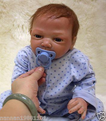 5c97e96a1cc9 Lifelike 18   newborn  reborn baby  dolls soft silicone vinyl real ...