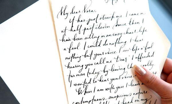 try to make my handwriting suck less
