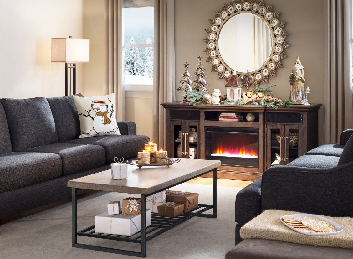 Elise 72 Tv Console W Electric Fireplace Fireplace Console