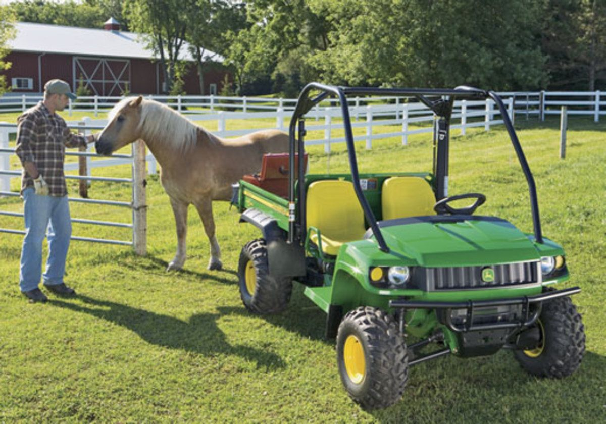 Utility Vehicles for Horse Ranches Utility vehicles