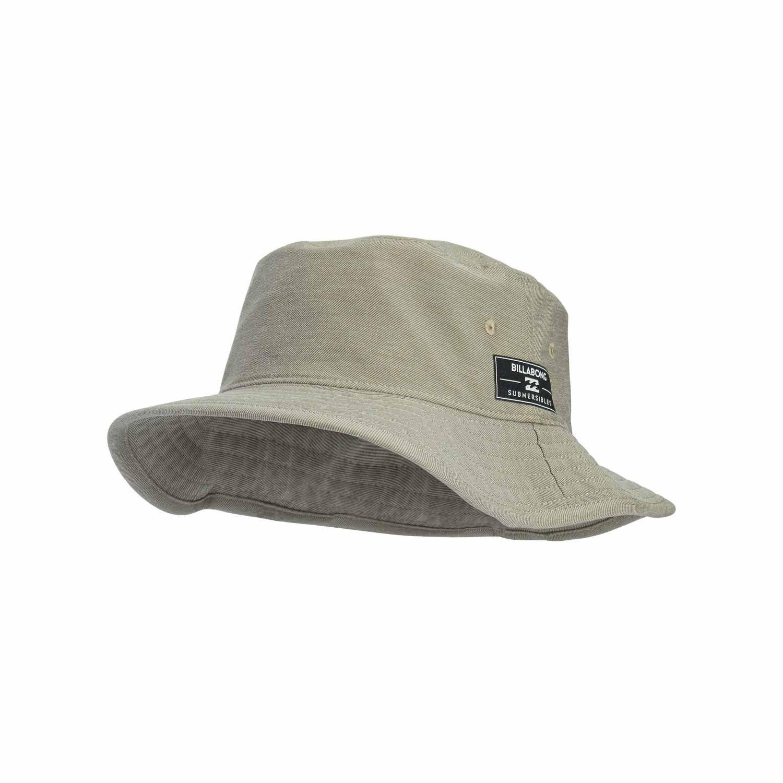 Billabong Submersible Safari Hat Light Khaki Safari Hat Billabong Mens Surf Hats