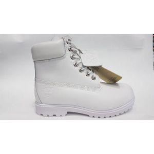 Ботинки Timberland женские зимние цвет белый кожа натуральный мех ... b30b0deff0a28