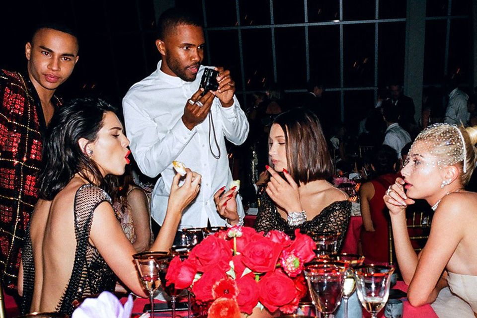 Frank Ocean Photographed The Met Gala For Vogue Met Gala Met Gala Photos Vogue Photo