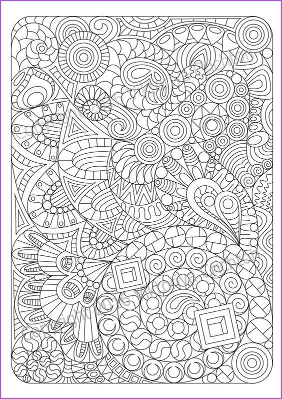 Related Image Pattern Coloring Pages Abstract Coloring Pages