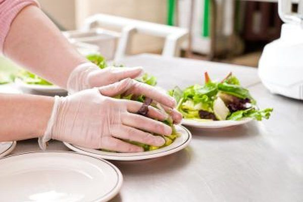 The Commis Chef Prepares Salads And Certain Kinds Of Sauces Food Safety Food Protection Hygienic Food