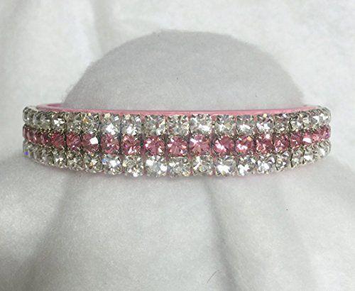 Diamond White Usa >> Sugarlicious Pets Pink Topaz Diamond White Crystal Diamante