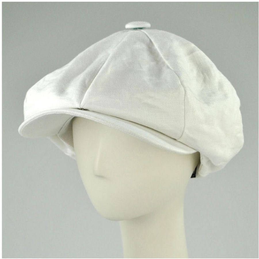 ff823c90 Linen Big Apple Cap | Imani list | Newsboy cap, Hats, Cap