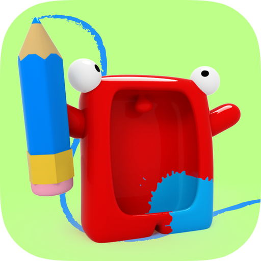 Drawing with Carl ↘️ free App design, App, Ipad